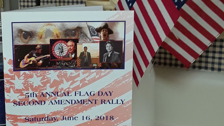 2018 Flag Day 2A Rally, Belchertown, MA
