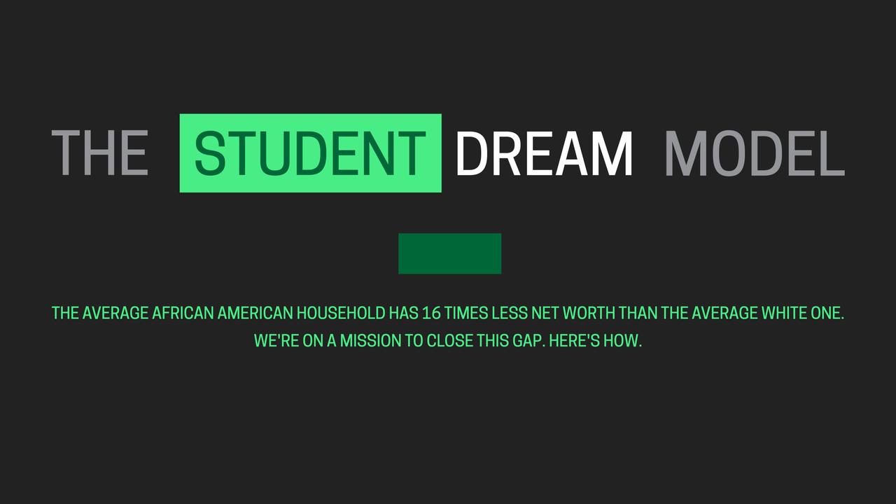 THE STUDENT DREAM MODEL