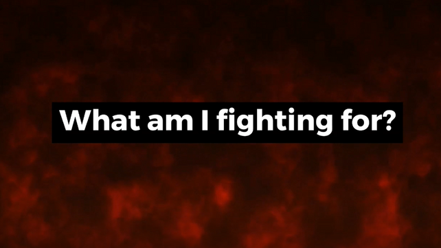 What_I_fighting_for_short