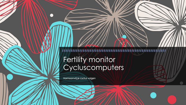Fertility monitor - Cycluscomputers - hormoonvrij je cyclus volgen