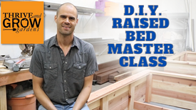 D.I.Y Raised Bed Master Class