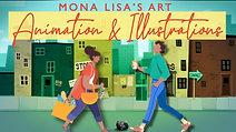 Animation & Illustration Reel / Mona Lisa's Art