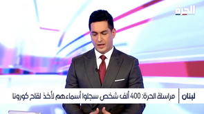 Dr. Chadi Sarraf's interview on Al-hurra on February 13th, 2021