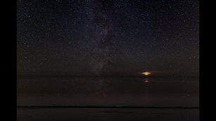 The amazing night sky in the Outer Hebrides