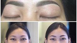 Semi permanent eyebrow course