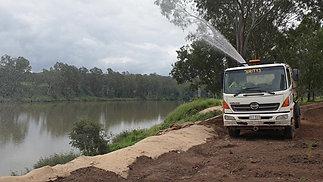 BJB02 Hino Water Truck