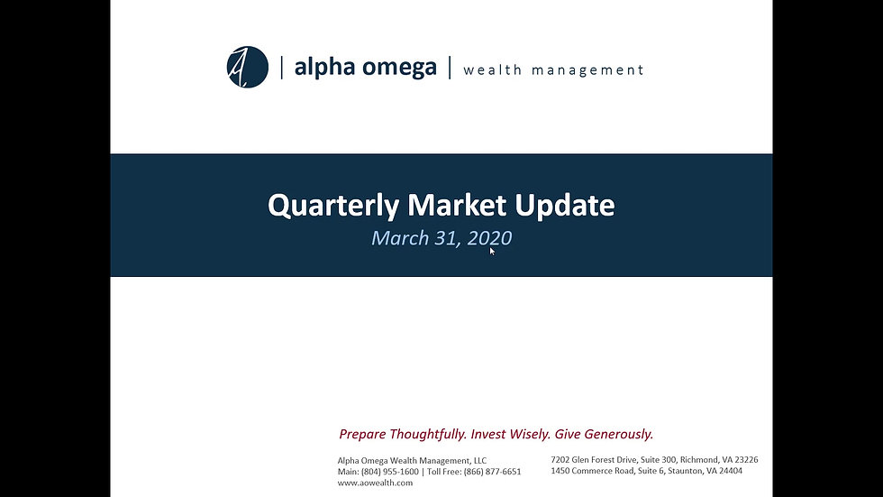AO Quarterly Update 2020 Q1