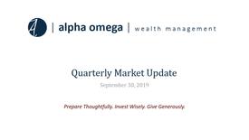 AO Quarterly Update 2019 Q3