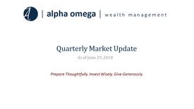 AO Quarterly Update 2018 Q2