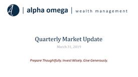 AO Quarterly Update 2019 Q1