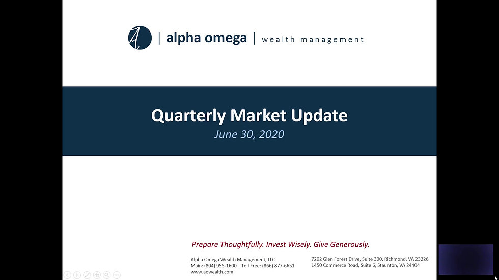 AO Quarterly Update 2020 Q2