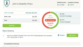 Adding a Disability Insurance Policy