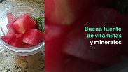 Wheatgrass and Watermelon juice