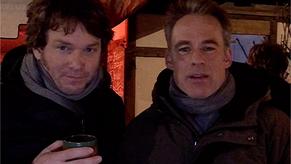 Social Video: Weihnachten in Leipzig mit der SoKo Leipzig - Marco Girnth und Steffen Schroeder