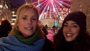 Social Video: Weihnachten in Leipzig mit SoKo Leipzig - Melanie Marschke und Amy Mußul