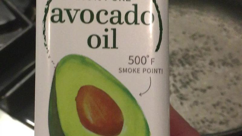 Talking Vegetables: Cooking Oil