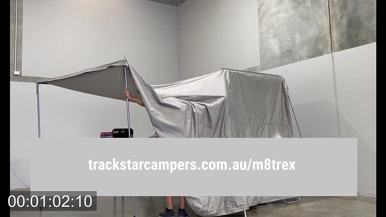 MTrex Awning Setup