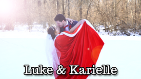 Luke & Karielle - A Christmas Wedding