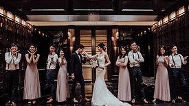Dylan & Xi Ping . Regent Hotel Singapore