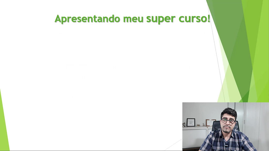 6 - APRESENTANDO MEU SUPER CURSO