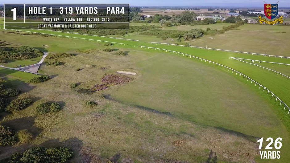 Great Yarmouth & Caister Golf Club Flyover