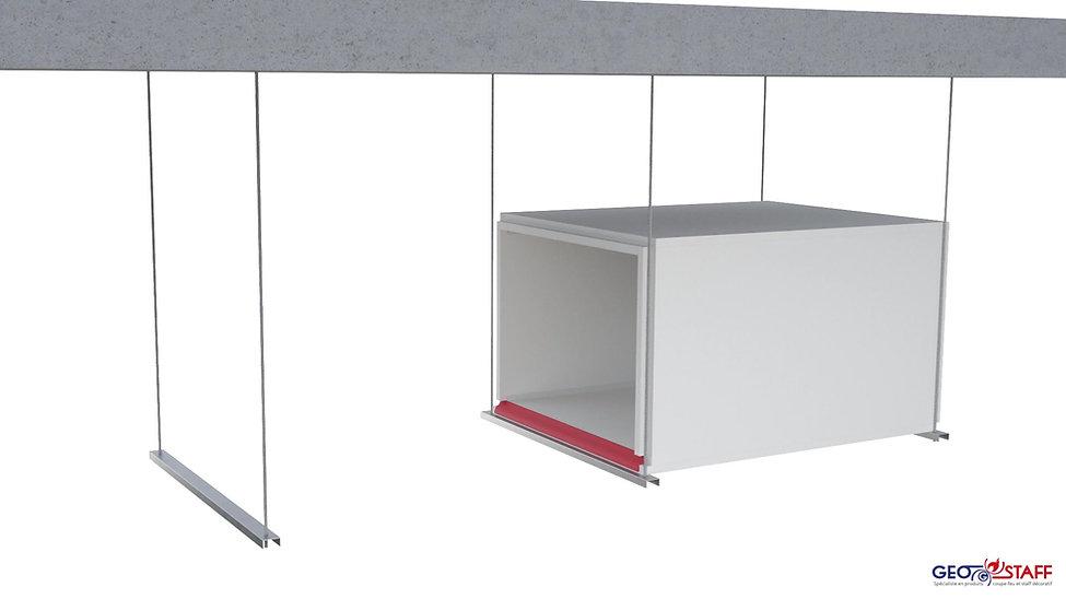 Montage GEOTEC® Entrauchungskanal