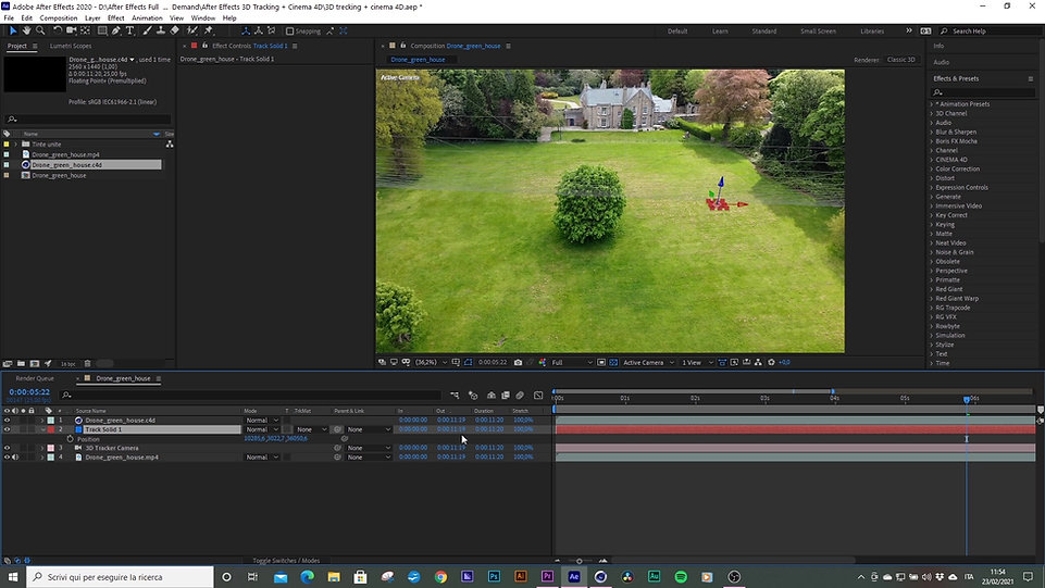 After Effects + Cinema 4D Integration