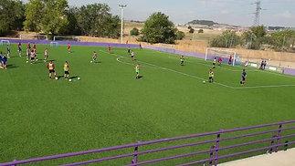 Real Valladolid C.F. B-Team Training