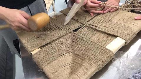編織座椅花絮