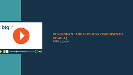 Government and Business Responses to COVID-19