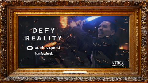 Defy Reality | Oculus Quest | Vader Immortal: A Star Wars VR Series