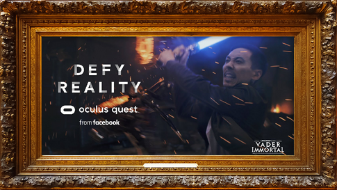 Oculus Quest - Defy Reality // Vader Immortal 30-Seconds