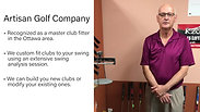 Artisan Golf Company - Master Golf Fitter