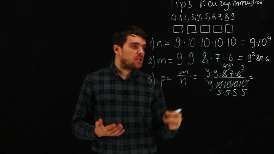 Probabilitate. Teorie și Practică pregătire BAC Matematică