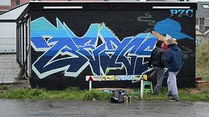 Zeeland Graffiti & Street Art for PZC Jong Zeeland