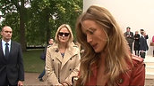 Rosie Huntington-Whiteley and other stars hit Burberry show