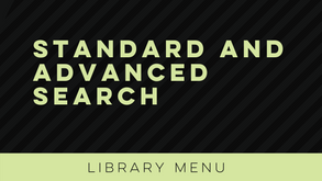 Standard and Advanced Search