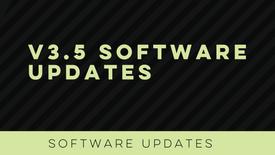 v3.5 Software Updates