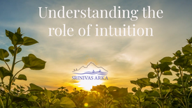 Understanding the role of intuition