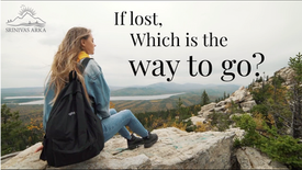 If lost, which is the way to go?