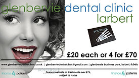 Glenbervie Dental Clinic Teeth Whitening Top Ups