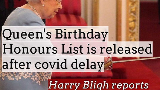 The Queen's Birthday Honours