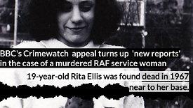 Crimewatch reveals new information about the murder of Rita Ellis