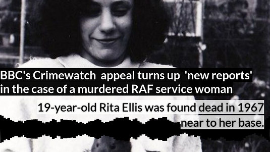 Crimewatch reveals new information about the murder of Rita Ellis