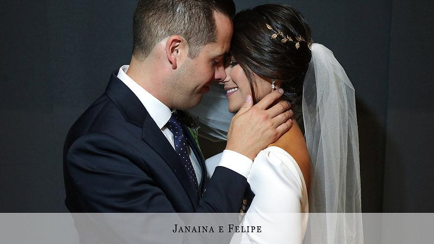 Janaina e Felipe
