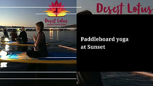 We Provide A Demo For First Time Paddleboarders.