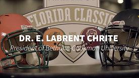 BCU President - Dr. E. Labrent Chrite