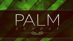 Palm Sunday - 5th April 2020
