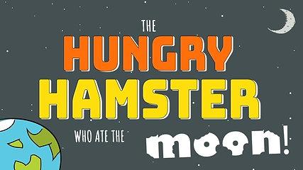 Hungry Hamster who ate the Moon! - Facebook Advertisement