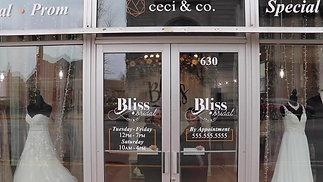 Bliss Bridal Shop Promo Video